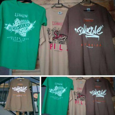 T-shirty z wizerunkami z naszych etykiet