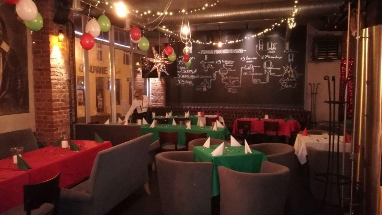 Przygotowania do Sylwestra 2017/2018  w Browar Lubrow Wejherowo